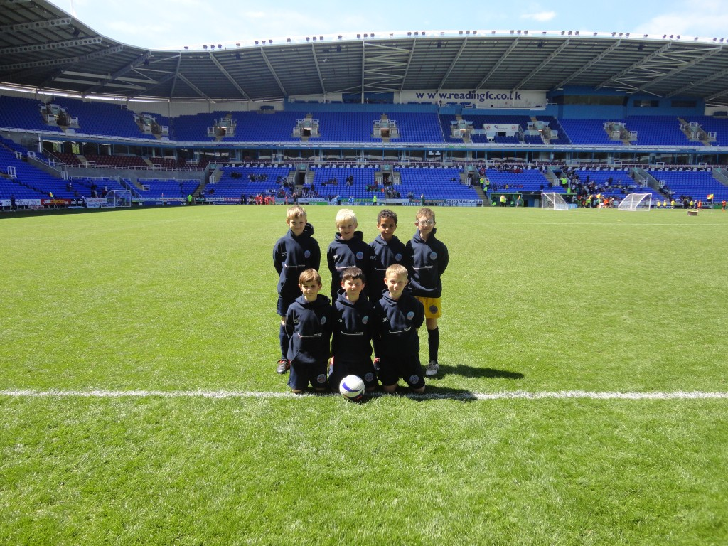 U9's Atletico had a fun afternoon playing at Readings Madjeski Stadium