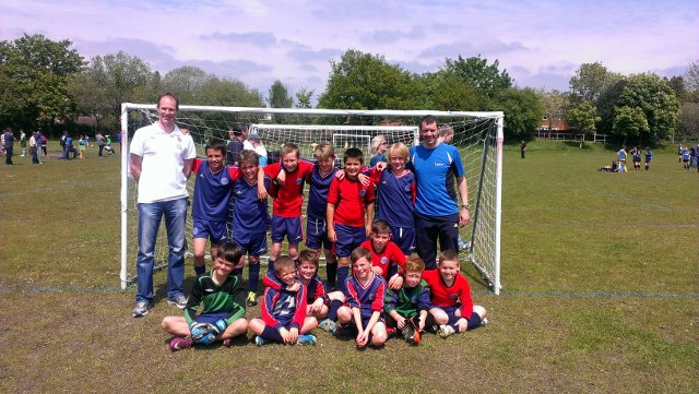 U11 Vikings who won the Cup Competition at the Fleet Spurs Tournament